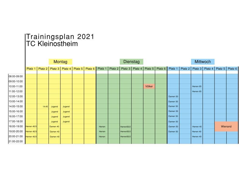 OKTrainingsplan Mo-Mi