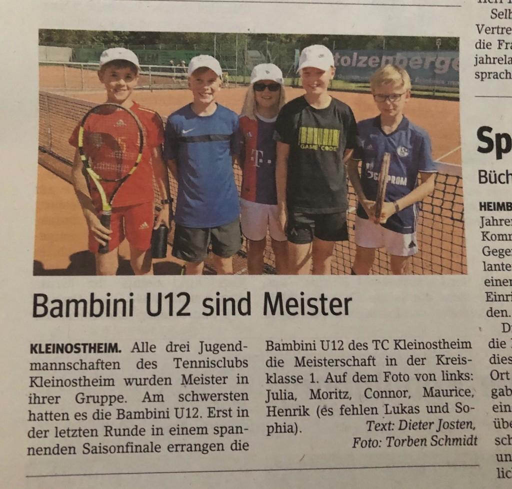 U12 Bambini